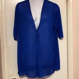 Versatile swimsuit cover up - Wear as a jacket